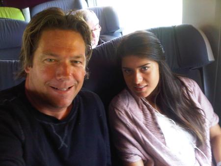 Sven en Sorana onderweg