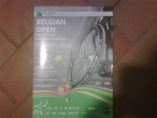 Belgian Open Poster