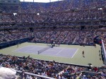 Flavia Pennetta beats Maria Sharapova in 3 sets on Arthur Ashe Studium