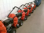 The court-drying-machines are lined up all the time in case they are needed...