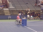 Esther Vergeer crowned as the 2011 US Open champion!