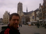 Downtown Mechelen, Belgium and looking for my Car which I parked below the square somewhere!