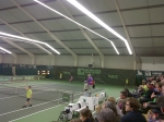 @NECWCTMasters infront of a full house @EstherVergeer wins against the local favorite @annicksevenans 6-0 6-1