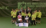 Esther Vergeer won her 14th consecutive NEC Wheelchair tennis masters title today against Aniek van Koot 6-1 6-2!
