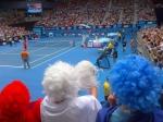 Jo Wilfriend Tsonga krijgt volledige steun van zijn Franse fans tijdens zijn overwinning van vandaag!