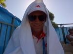 Ook het jeugdtoernooi van de Australian Open is van start gegaan! Het wordt steeds heter en heter in de zon. Ik probeer dus maar zoveel mogelijk in de schaduw te blijven