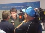 Roger Federer neemt altijd de tijd voor de internationale pers