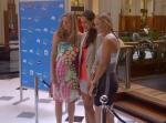Petra, Ana en Caroline. Drie grote kampioenen, maar nog grotere persoonlijkheden. Zulke aardige meiden en hopelijk in de toekomst allen Grand Slam winnaressen en nr 1 van de wereld geweest. Ze waren het middelpunt van de belangstelling tijdens de 'Players Party' gisteravond in Sydney.