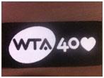 WTA Tour Logo 40-jarig bestaan